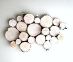 white birch forest topography  organic wood von urbanplusforest, $140.00