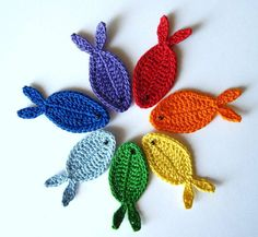 Download Fish and Sea Weeds Crochet PATTERN Sewing Pattern | Crochet/Knitting | YouCanMakeThis.com
