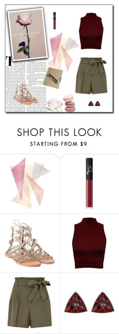 """Untitled #1330"" by flady ❤ liked on Polyvore featuring NARS Cosmetics, Steve Madden, WearAll, Miss Selfridge and French Connection"