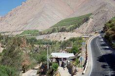 Carretera entre el Valle del Elqui - Vicuña