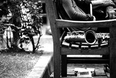 Street music break. At #Bibione.