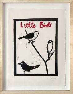 John Derian Company Inc — Little Birds by Hugo Guinness