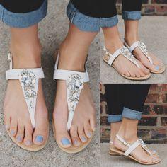 Shimmering Seas Sandal