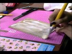 Caderno de receitas com Scrap - Artesã Marisa Magalhães - Aquarela Brasil Tintas - Parte 1/2 - YouTube