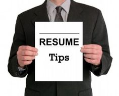 Three Formatting Faux Pas' on Your Resume That the Applicant Tracking Systems Can't Read!
