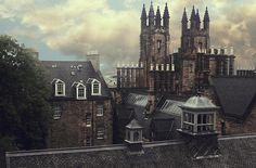 bluepueblo:  Spires, Edinburgh, Scotland  photo by erin