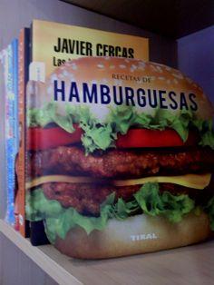 Curioso libro de recetas de hamburguesas: de pollo, ternera, búfalo, canguro,etc