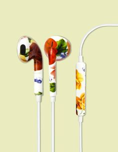 #classic #floral #headphones #unmanned
