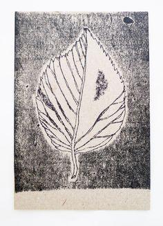 leaf printed at the Grafisch Werkcentrum Amsterdam