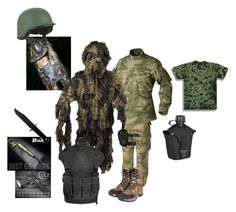 """""""TAT Special Forces (Sniper)"""" by louis-sargent ❤ liked on Polyvore featuring art"""