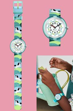Telling Time, Blogger Themes, Swatch, Color Schemes, Bracelet Watch, Pony, Vibrant Colors, Turquoise, Teaching