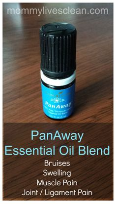 PanAway is PAIN Away!  Use for muscle, joint and ligament pain and swelling.  Bruises also disappear!