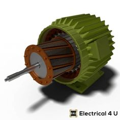 A SIMPLE explanation of how a 3 phase induction motor works. We also discuss the CONSTRUCTION of a three phase motor – including its stator and rotor. Electrical Energy, Electrical Engineering, Copper Bar, Motor Works, Electrical Connection, Electric Motor, Motors, Casino Royale, Squirrel