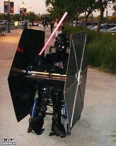Tie Fighter Wheel Chair