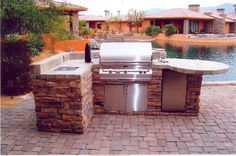 Outdoor Kitchens and Islands - Coachella Valley | Desert Fireplaces and BBQ's