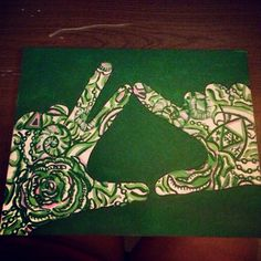 Kappa Delta Lilly Pulitzer Throw What You Know