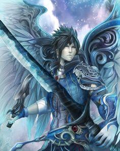 Aion  by ~AquaJ  It looks like Zack!