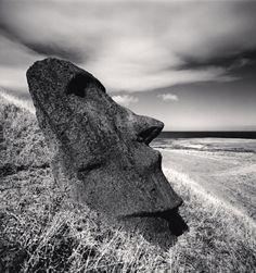 Moai, Study 26, Rano Raraku, Easter Island, 2000