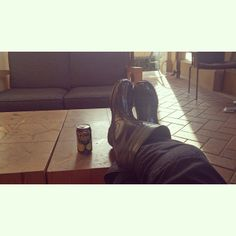 Photo via Instagram user @Jessica Hernandez Postin #lunch #hawaiiansun #shoesforcrews #work