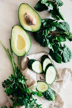Green Foods for Glowing Skin