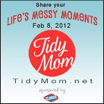 Mark your calendars for Feb 8 and share your life's messy moments @TidyMom