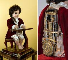 Este autómata programable mecánico en forma de niño dibujante compuesto por 6000 piezas, es sin lugar a dudas el primer ordenador, y fue co...