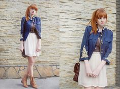 Blue and Gold (by Alina K.) http://lookbook.nu/look/1755944-Blue-and-Gold