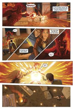 Sneak peek from Rick Riordan: More from the upcoming Red Pyramid graphic novel
