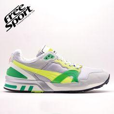 Puma Trinomic XT2 Plus Grigia Gialla Verde 355868-01