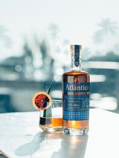 Project M Plus channeled the spirit of the Caribbean in order to create the  packaging for Atlantico Rum.