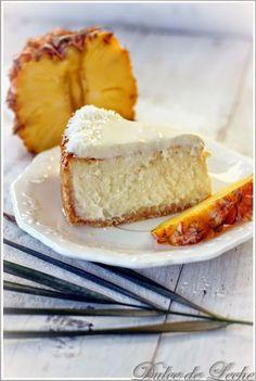 Exotický cheesecake s kokosom a ananásom vám otvorí nové obzory   Urob si sám