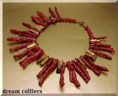 ♥♥♥OktobeRöte♥♥♥ Korallensonne von Dream-Colliers auf DaWanda.com