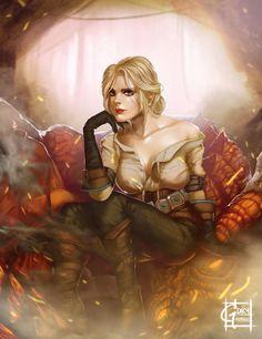 Ciri : The Witcher Fanart by GDecy on DeviantArt