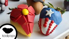 Avengers: Age of Ultron Covered Strawberries Strawberry Art, Strawberry Shortcake Party, Strawberry Recipes, Chocolate Hearts, Hot Chocolate, Veggie Display, Dessert Boxes, Chocolate Dipped Strawberries, Candy Apples