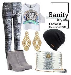 """Senza titolo #380"" by lady-cherries00 ❤ liked on Polyvore featuring Chicnova Fashion, Dareen Hakim, Prada, Badgley Mischka and Coal"