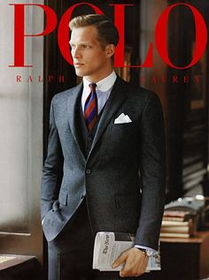 Polo Ralph Lauren Fashion Menswear Collection and luxury details that make a difference