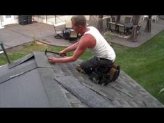 """THE FASTEST ROOFER PERIOD"" - Rocket Rob hand nails - YouTube"