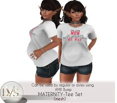 [LVS&CO]BEFORE&AFTER-TEE SET -MOM-MYWAY