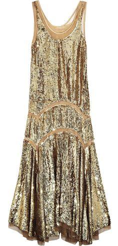 Michael Kors flapper dress