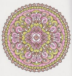 Magical Mandalas 017 done with pencils