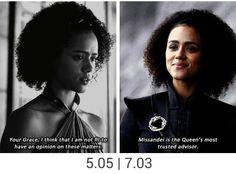 "#gotseason7"" game of thrones season 7 Missandei, Nathalie Emmanuel"