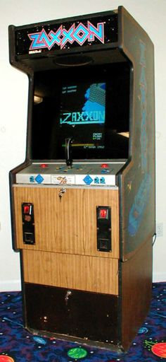 Zaxxon - Classic Arcade cabinet#Repin By:Pinterest++ for iPad#