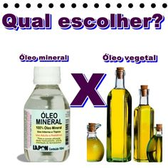 Dani Azevedo: Óleo mineral X Óleo vegetal