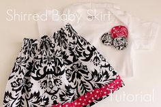So easy diy baby skirt!