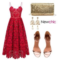 """""""#newchic"""" by tania-alves ❤ liked on Polyvore featuring chic, New and newchic"""