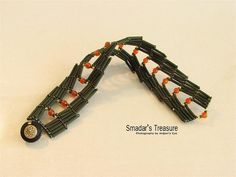 Saraguro Hojas Bracelet with Bugles by Smadar's Treasure, via Flickr