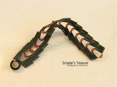 Saraguro Hojas Bracelet with Bugles by Smadar's Treasure, via Flickr