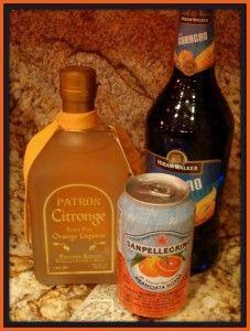 denver broncos cocktail recipe ingredients #superbowl #orangecocktail #cocktail