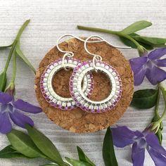 Dainty Hoop Earrings Pretty Sterling Silver Jewellery for