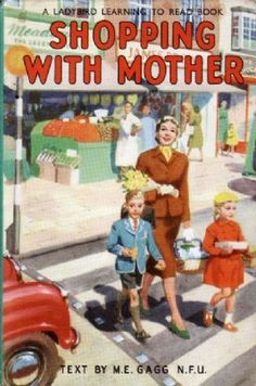 SHOPPING WITH MOTHER Vintage Ladybird Book Series 563